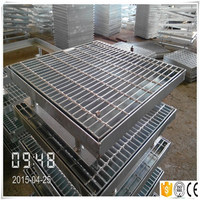 ms drain grating/stainless steel floor drain grate/mild steel grate and frame