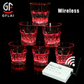 New Products For Nightclub Bar Carzy Party Wireless Remote Controlled LED Flashing Whisky Glass Cup