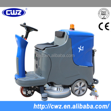 Battery charger automatic floor cleaning machine
