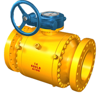 4 Inch CF8M Stainless Steel Bronze Ball Valve