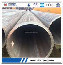 LSAW steel pipe china carbon steel pipe/oil transmission steel tube/structural material