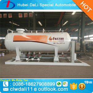 2m3 4m3 5m3 10m3 20m3 Domestic LPG Tanks Cooking Gas Station LPG Gas Filling Plant for sale