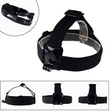 Go pro Elastic Head Strap Adjustable Headstrap Mount Belt for Go pro Camera He ro 3+ 3 2 1 HD Accessories