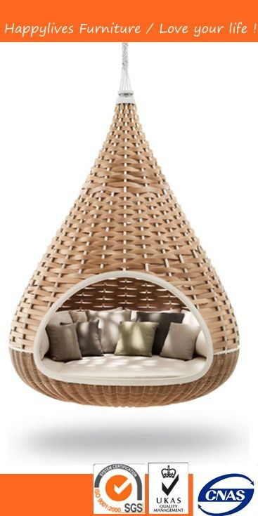 MT2606 Good Quality Nestrest Rattan/wicker hanging bed Made in China