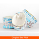 Customize size fabric bread folding cloth storage set basket