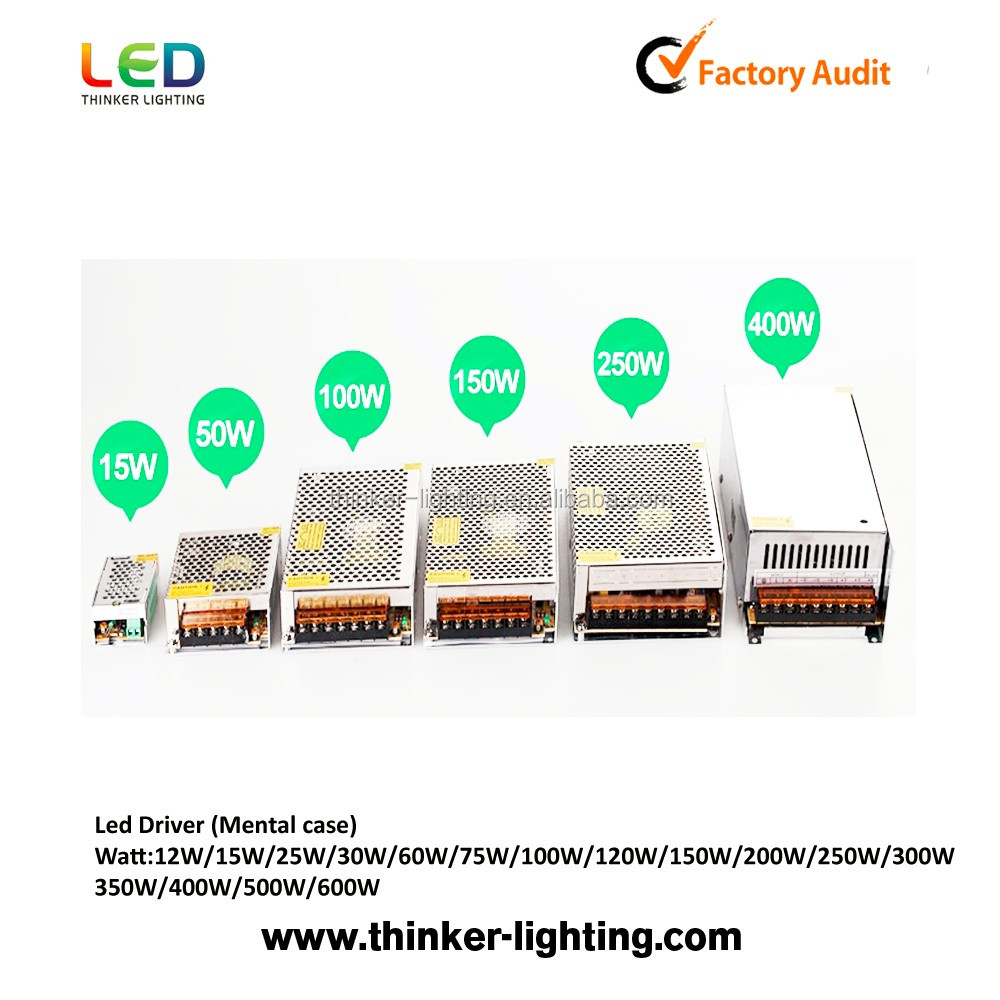 Hot sale 60W 220v 24V 2.5A led ac dc switching power supply 12v 5A