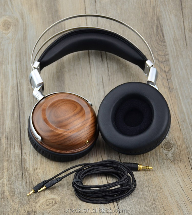 Best Rated Headphones On Ear Wood Suround Sound Headphones Wired
