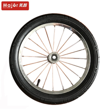 bicycle pneumatic rubber wheel tire 16x2.125 with zinc plating