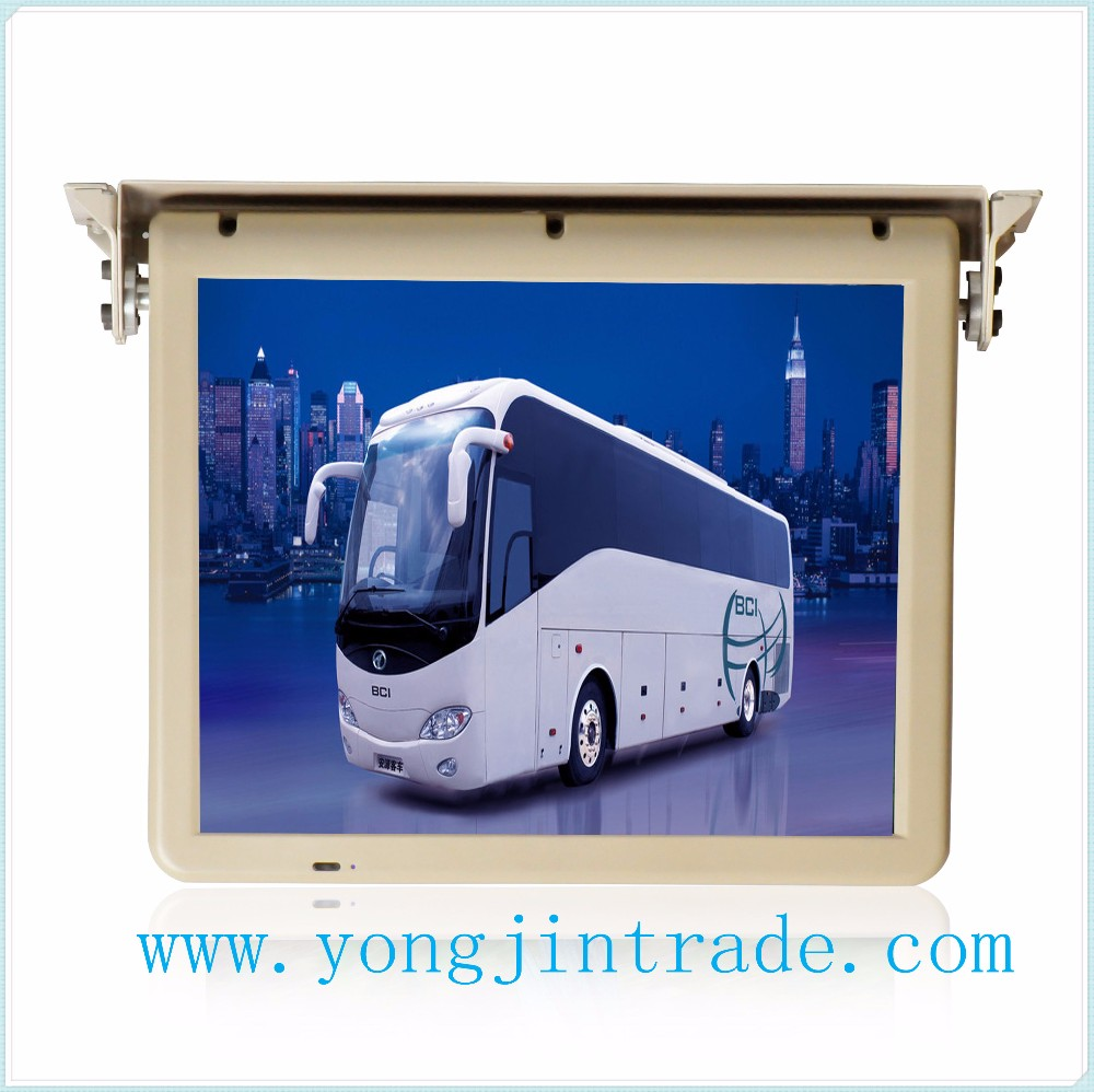 22/18.5/17.3 inch roof mounted bus tv monitor 24V