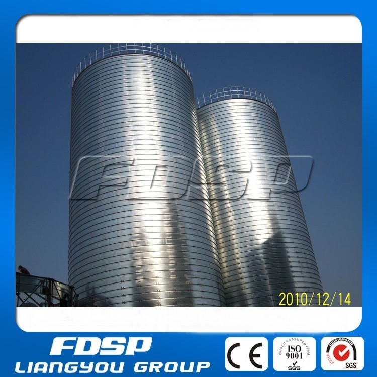 Professional Manufacturer chicken feed silo-grain bins used in feed plant for sale-wheat paddy rice storage bin