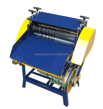 Automatic scrap copper wire cable cutting stripping machine