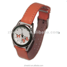 Leather new hot buy little genius girls popular watches 2013