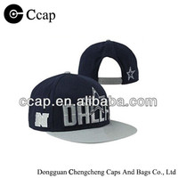 2015 Manufacture cotton snapback with embroidery