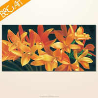 YJ(7185) Fine art realistic still life flower canvas print for home decoration