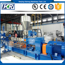 2000kg/H Complete Plastic Wood Pellet Production Line/Lab Plastic Polymer Compounding Parallel Twin Screw Extruder