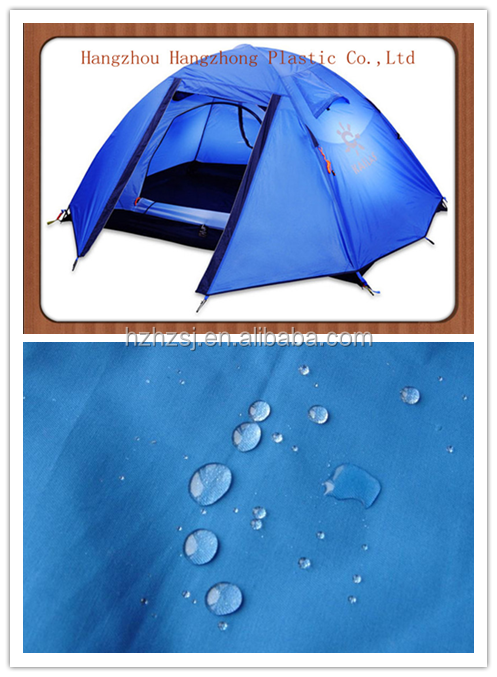 100% polyester waterproof oxford fabric for outdoor tent