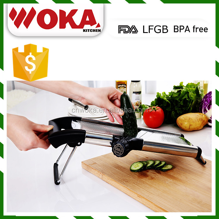 kitchen accessories adjustable mandolin slicer