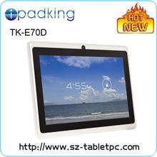 7 inch A23 Dual Core tablet pc Q88 tablet pc