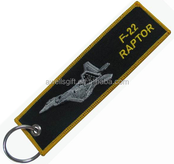 F-4 airplane FLIGHT key chain luggage tag airlines aviation air plane