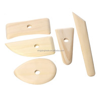 Deluxe DIY Ceramic Tools Art Tools Potters Rib for Pottery/Sculpting/Ceramic/Polymer Clay Carving Modelling Using High