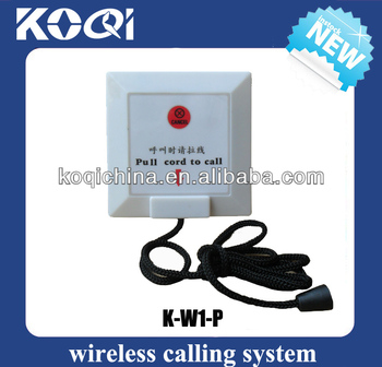 Emergeny Call Bell K-W1-P Pull cord to call
