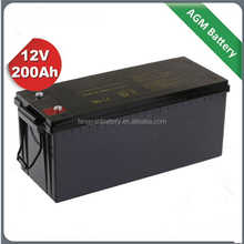 New Energy large capacity12v lead acid solar storage battery