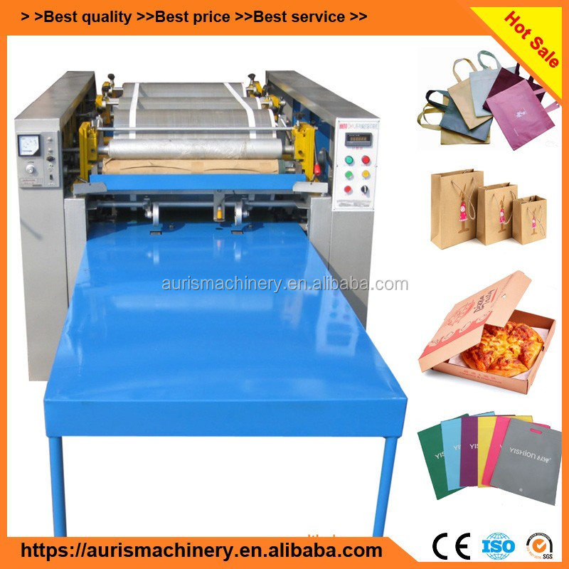 best price paper bag /polythene bag /non woven bag printing machine price