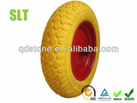 14 inch 3.50-8 pu foamed wheel barrow tire
