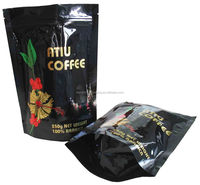 zipper coffee pouch / stand up bags for coffee packaging