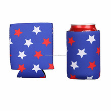 High Quality Heat Transfer Neoprene Can Cooler Cover/Stubby Cooler Holder