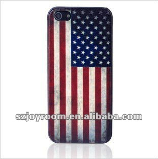USA flag cover case for iphone 5G