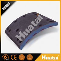 Carbon fiber truck brake lining for Howo truck