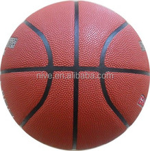 official size and weight match quality PU basketball