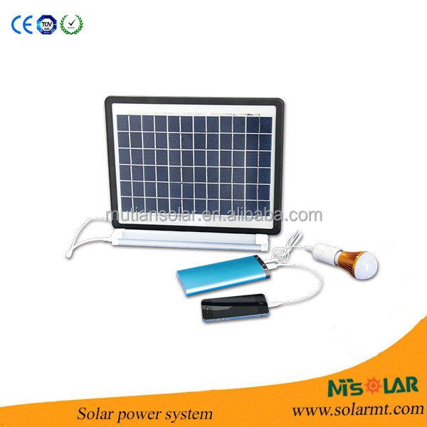 10w mini portable solarsystem for home with charge function