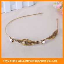 Top selling super quality hair accessories crystal stretch headbands wholesale