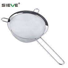 Fine Mesh Stainless Steel Strainers - Premium Quality With Two Ear JS-A002