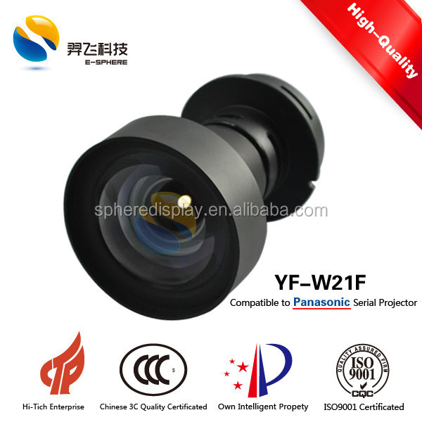 0.7:1 Ultra short throw Panasonic compatible projector lens YF-W21F