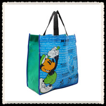 Gift Foldable PP Printed Garment Cheap Tote Laminated Recyclable Non Woven Bag
