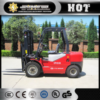YTO heavy truck wheels forklift CPCD30 clamp/ side-loader forklift truck