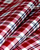 Yarn Dyed Stripe Cotton Polyester Woven Textil Shirting Fabric Manufacturer for Shirts and Uniforms