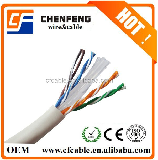 Network cable UTP CAT6 lan cable past FLUKE test