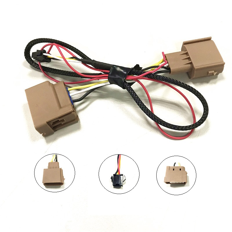 Auto Ford Gm Park Turn Signal Lamp Mate Wiring Harness Custom 3 Pin  Pin Wire Harness on