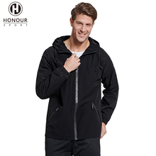 Wholesale Customized Men Winter Printed Brushed Hooded Windbreaker Varsity Jackets