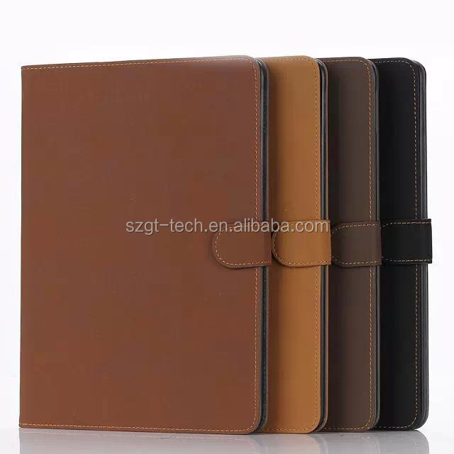 Brand new luxury for iPad air 2 stand smart cover leather flip case for iPad air 2