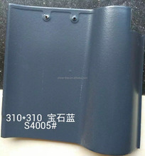 Water Proof Spanish Curved Roofing Tiles Clay Materials