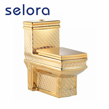 factory direct price home washdown one piece gilded luxury portable toilets for sale