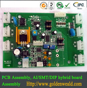 dvd pcb assembly PCB circuit board assembly for remote starter led pcba manufacturer