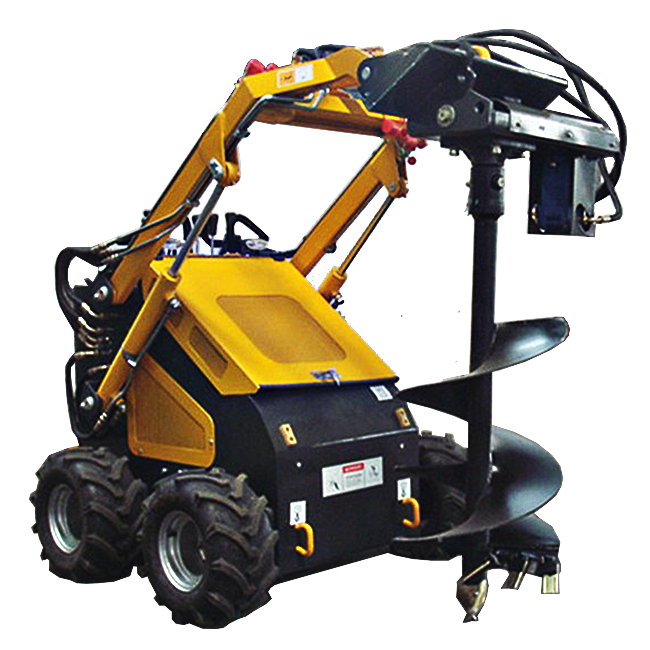 Skid steer mini snow thrower attachment for sale