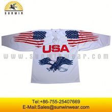 Cheap european hockey jersey/cheap practice jerseys for team/club/school