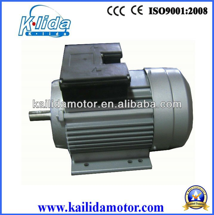 Yl single phase 1hp double capacitor electric motor buy for 1hp single phase electric motor